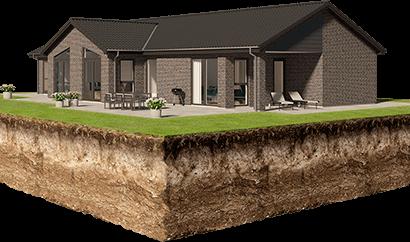 Vi finansierer hus og grund i byggeperioden